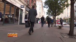 Oxford Street àLondres, la rue la plus polluée d'Europe (FRANCE 3 / FRANCETV INFO)