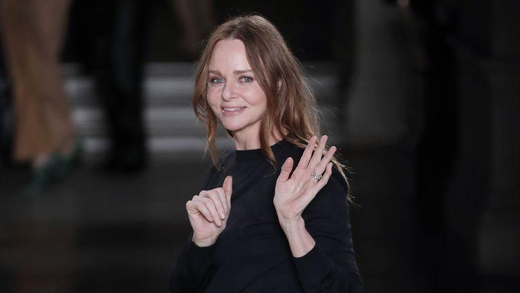 La styliste Stella McCartney en 2017  (Patrick KOVARIK / AFP)