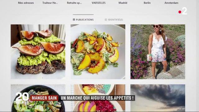 Manger sain : un marché qui aiguise les appétits !