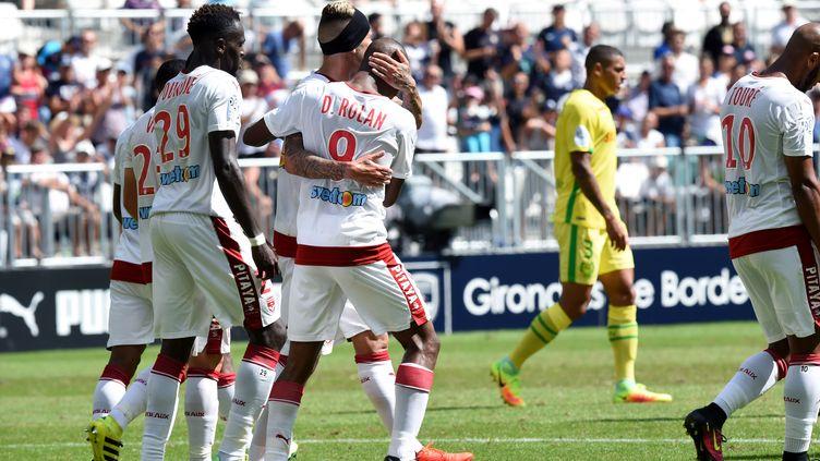 Bordeaux s'impose face au FC Nantes (MEHDI FEDOUACH / AFP)