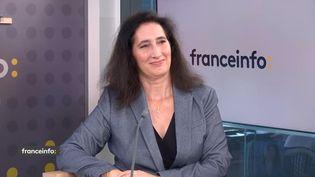 Isabelle de Silva, présidente de l'Autorité de la concurrence, sur franceinfo lundi 11 octobre 2021. (FRANCEINFO / RADIOFRANCE)
