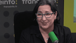Nathalie Crouzet sur franceinfo, le 20 février 2017. (RADIO FRANCE / CAPTURE D'ÉCRAN)