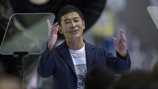 Le milliardaire Yusaku Maezawa  (DAVID MCNEW / AFP)