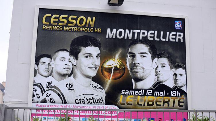 L'affiche du match Cesson-Montpellier
