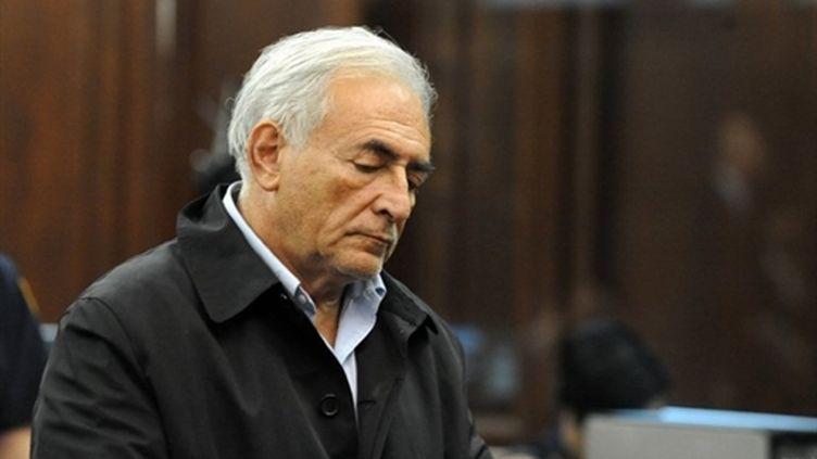 Dominique Strauss-Kahn est visé par sept chefs d'accusation, notamment tentative  de viol et séquestration (AFP - Andrew Gombert)