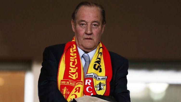 Gervais Martel, le président du RC Lens (VALERY HACHE / AFP)
