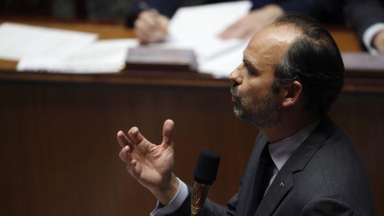 Edouard Philippe à l'Assemblée nationale le 4 décembre 2018 (FRANCOIS GUILLOT / AFP)