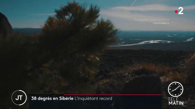 La Sibérie a enregistré un record préoccupant de température avec 38 degrés