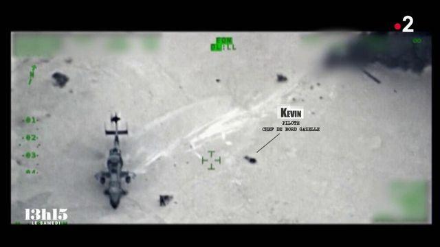 """VIDEO. Opération Barkhane. """"Oh p..... ! Ils se sont crashés"""" : images exclusives et récit du sauvetage de l'équipage de la Gazelle"""