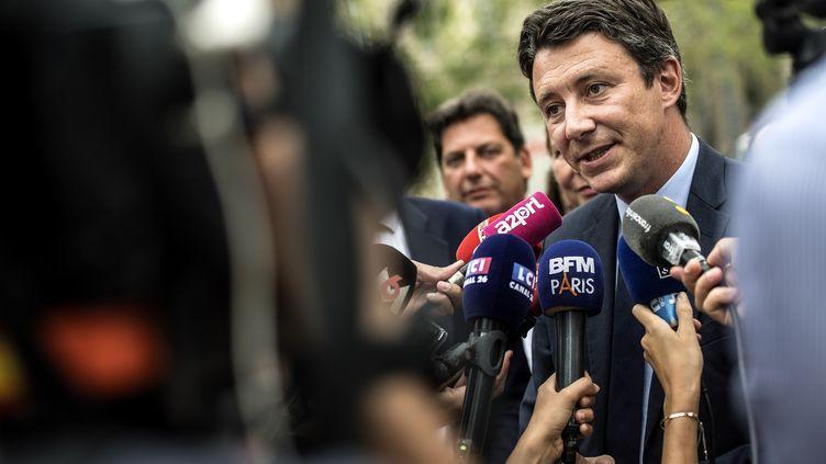 Benjamin Griveaux est le candidat officiel de LREM à la mairie de Paris. (CHRISTOPHE ARCHAMBAULT / AFP)