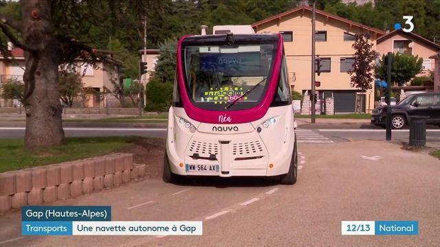 Transports : une navette électrique autonome à Gap