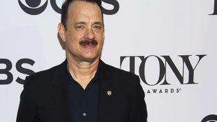 L'acteur Tom Hanks, le 1er mai 2013 à New York (Etats-Unis). (CHARLES SYKES / AP / SIPA)