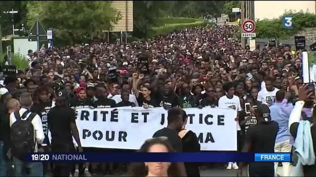 Val-d'Oise : une marche blanche en hommage à Adama Traoré