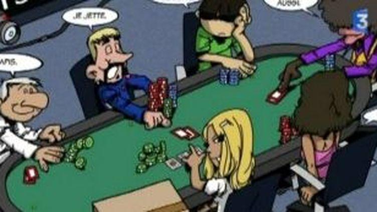 La reine de coeur une BD de la série Poker stars des frères Desmond  (Culturebox)