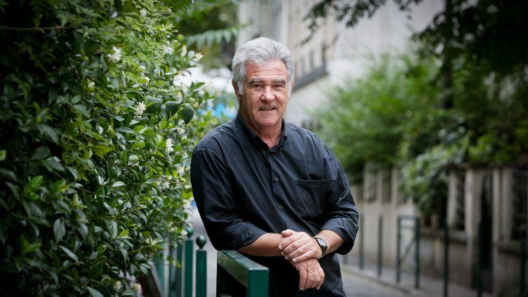 Le journaliste Georges Pernoud, le 4 août 2015 à Paris. (MAXPPP)
