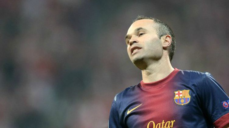 Andres Iniesta (FC Barcelone)