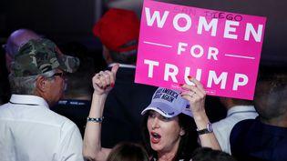 53% des femmes blanches ont voté pour Trump (MARK WILSON / GETTY IMAGES NORTH AMERICA)