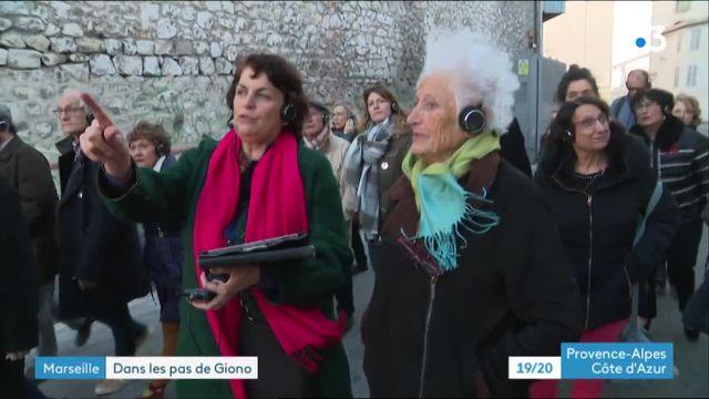 Balade Jean Giono à Marseille