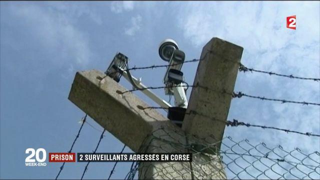 Prison : deux surveillants agressés en Corse