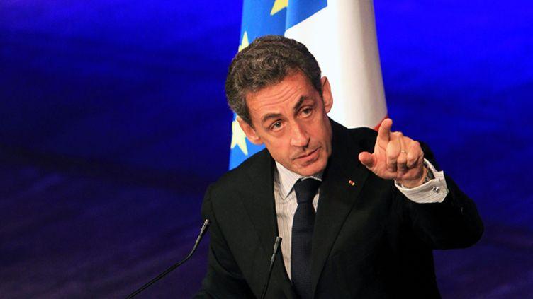 (Nicolas Sarkozy le 29 janvier 2015. © Maxppp)