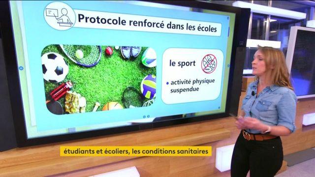Éducation : le point sur le protocole sanitaire appliqué dans les établissements scolaires et universités