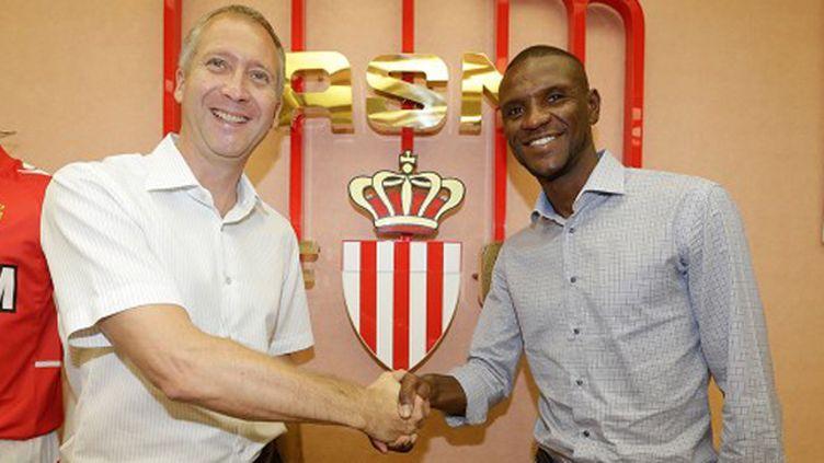 Eric Abidal fait son retour à Monaco.