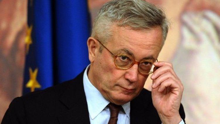 Le ministre des Finances Giulio Tremonti (12 août 2011) (AFP / Vincenzo Pinto)