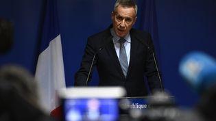 François Molins, à Paris,le 18 avril 2017. (MARTIN BUREAU / AFP)