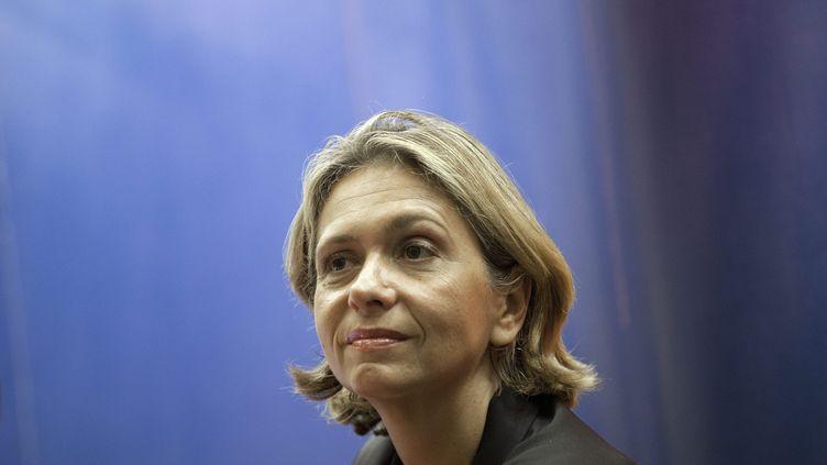Valérie Pecresse, députée UMP et ancienne ministre, lors d'une réunion publique àDomene, dans la banlieue de Grenoble (Isère), le 4 octobre 2012. (MAXPPP)