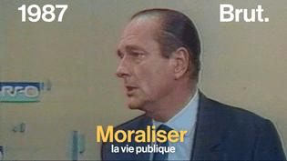 François Bayrou, le garde des Sceaux, vient de présenter son projet de moralisation de la vie politique. Il est loin d'être le premier homme politique à s'être intéressé à la question. (Brut)