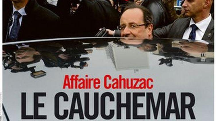 """La une de """"Libération"""" daté du 8 avril 2013. (LIBERATION )"""