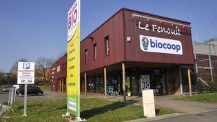 Un magasin Biocoop au Mans (Sarthe). (SERGE ATTAL / ONLY FRANCE / AFP)