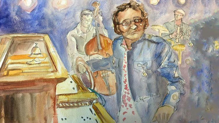 Jonathan Mathis remet au goût du jour l'orgue de barbarie  (Elisabeth de Pourquery)