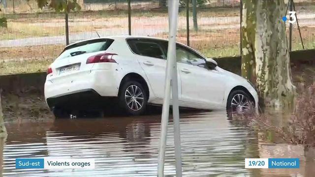 Var : le département désormais touché par de violents orages