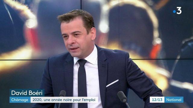 Chômage : une forte hausse globale en 2020 en France