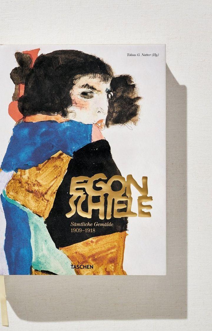 """Egon Schiele : L'oeuvre complet"""" : 1re de couverture  (Taschen)"""