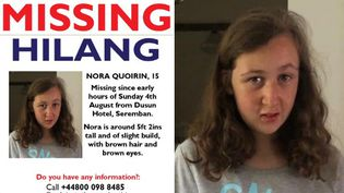 Nora Quoirin, 15 ans, est portée disparue depuis dimanche 4 août 2019 à Kuala Lumpur (Malaisie). (CAPTURE D'ECRAN TWITTER / Lucie Blackman Trust)