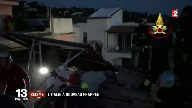 Séisme : l'Italie à nouveau frappée