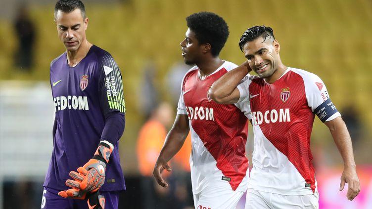 Monaco est dans le dur. (VALERY HACHE / AFP)