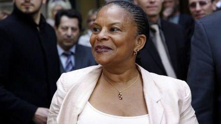 Christiane Taubira (17 mai 2012) (THOMAS SAMSON / AFP)
