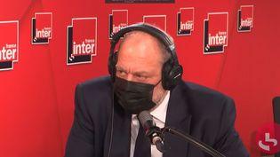 Éric Dupond-Moretti le ministre de la Justice était l'invité de France Inter mardi 11 mai 2021. (FRANCE INTER / RADIO FRANCE)