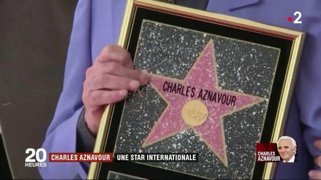 Charles Aznavour : une star internationale