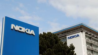 """Le site""""Paris-Saclay' de Nokia, visé par le plan de suppression d'emplois confirmé lundi 2 octobre 2017. (THOMAS SAMSON / AFP)"""