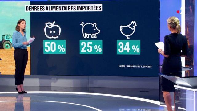 Agriculture : la France importe de plus en plus de denrées alimentaires