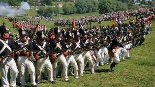 Bataille de Waterloo-Reconstitution  (RECONSTITUTION D'UN CAMP NAPOLEONIEN)