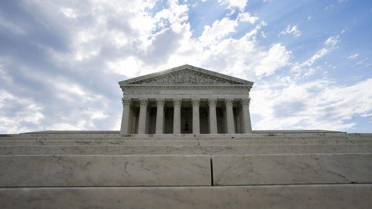La Cour suprême américaine, le 30 juin 2020. (STEFANI REYNOLDS / GETTY IMAGES NORTH AMERICA/ AFP)