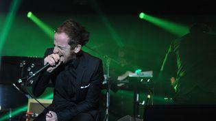 Dionysos chante à l'édition 2012 du Printemps de Bourges  (ALAIN JOCARD / AFP)