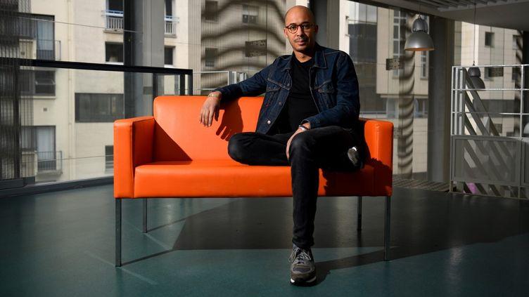 L'acteur et ex-directeur duThéâtre des Quartiers d'Ivry Jean-Pierre Baro en 2019. (DAMIEN MEYER / AFP)