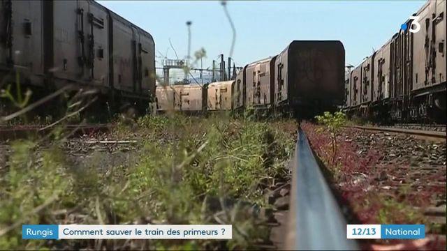Rungis : le train des primeurs menace de disparaître