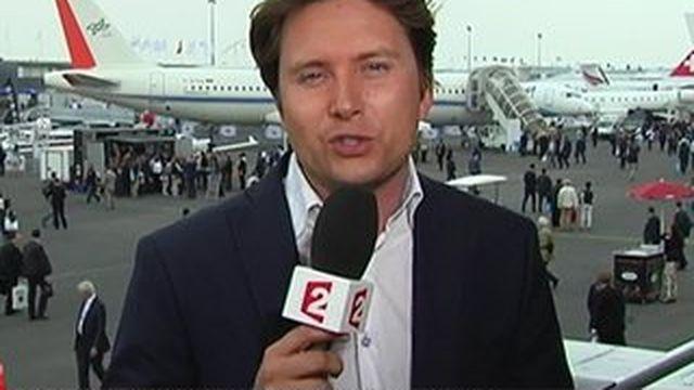 Aéronautique : le salon du Bourget ouvre ses portes